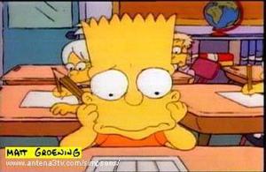 Bart-Simpson-en-la-escuela