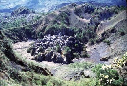 Domo o cráter del Ceboruco