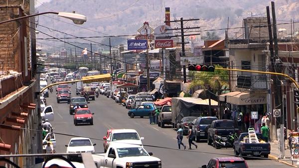 Tráfico en Ixtlán