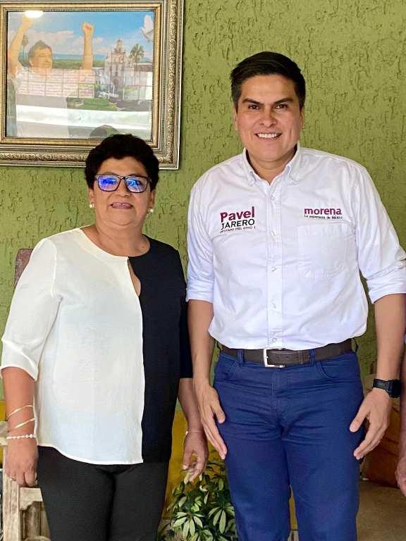 Pavel y Quecha se reúnen para involucrar a la federación en Ahuacatlán